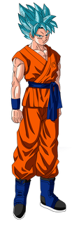 goku super saiyan god super saiyan render by kaishine45-d8qd9gf