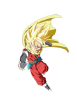 db heroes hero ssj render by metamine