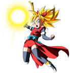 dragon ball heroes  saiyan heroine note by chrisemerald chaos z-d5pj82a