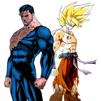 goku vs superman by jayc79-d5skzo7