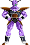 Render Dragon Ball Z capitain ginyu