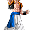 Render Dragon ball gogeta ssj