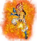 super saiyan god gogeta by elitesaiyanwarrior-d6ey30i
