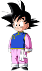 Goten with Changshan - DBZ Majin Buu Saga