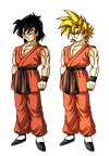 Son Goten end of DBZ by Gothax