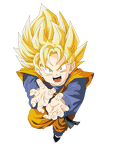 son goten vector render extraction png by tatty bojangles-d54xpmp