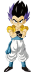 base form gotenks render extraction png by tattydesigns-d59py3v