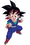 goku jr render extraction png by tattydesigns-d597s31