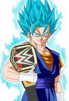 wwe world heavyweight champion vegetto ssjgssj by gonzalossj3-d8rjike