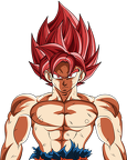 goku limit breaker   ssj red battle damaged by dragonballaffinity-dbmfycg