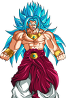 broly god blue by dragonballaffinity-dbbespm