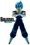 super saiyan blue vegetto by brusselthesaiyan-dbyf0fx