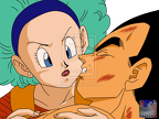 Render Bulma et Vegeta love