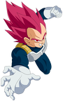 Render Vegeta Super Saiyan God
