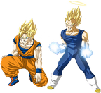 goku and vegeta v2