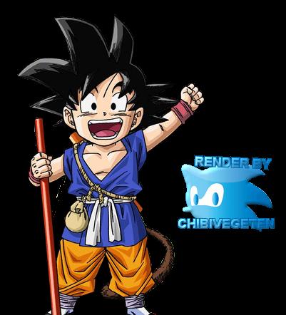 Goku 2 renders 2500 renders dragon ball la r f rence de renders dragon ball dbz - Petit sangoku ...
